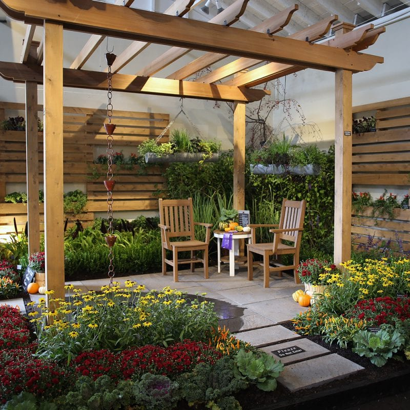 flower building