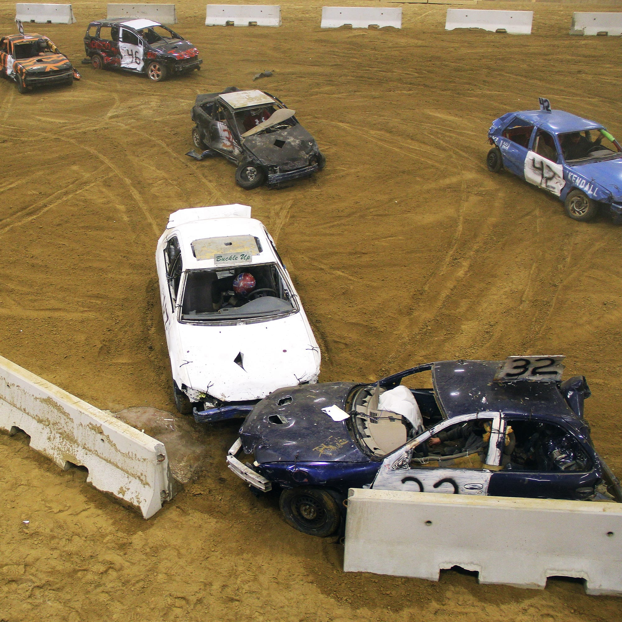 Demolition Derby at the topsfield fair