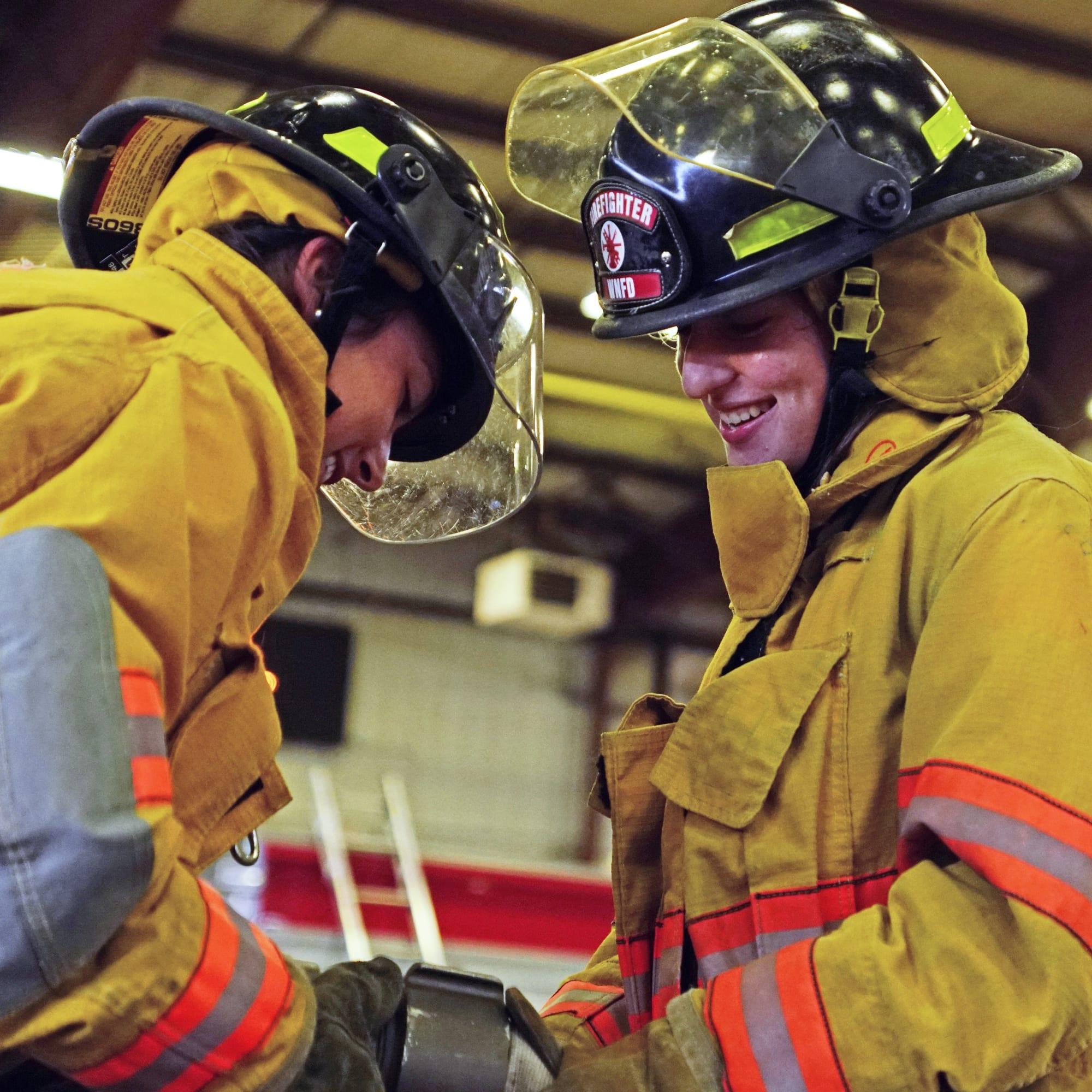 firefigher demonstration